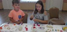 Zajęcia z masy solnej w Gminnym Domu Kultury w Sośnie