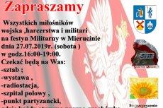 Festyn militarny w Mierucinie