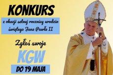 Konkurs z okazji setnej rocznicy urodzin świętego Jana Pawła II