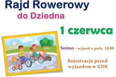 Rajd rowerowy do Dziedna