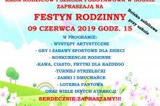 Festyn rodzinny w Sośnie