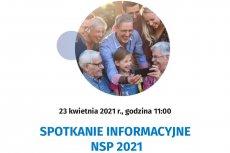 Spotkanie informacyjne NSP 2021 – 23 kwietnia 2021