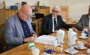 Podpisanie umowy na drogę Obodowo - Sośno -Wierzchucin Królewski