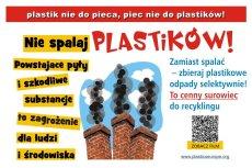 W trosce o czyste powietrze Plastik nie do pieca - piec nie do plastiku