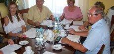 Relacja z prezydium i terminy październikowych spotkań komisji stałych RG