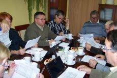 Relacja z prezydium i terminy spotkań komisji stałych - październik 2019