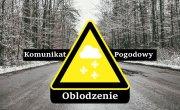 Ostrzeżenie meteorologiczne Nr 20/2021 - Oblodzenie