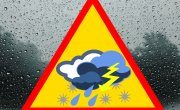 Ostrzeżenie meteorologiczne Nr 23/2019 - Burze z gradem