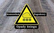 Ostrzeżenie meteorologiczne Nr 7/2021 - Intensywne opady śniegu