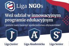 Zapraszamy do udziału w programie edukacyjnym Liga NGO